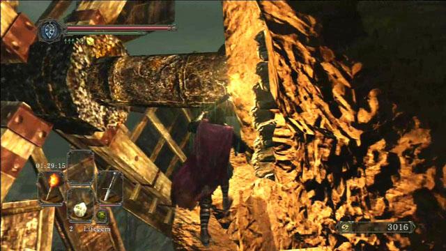 Acenda o dispositivo.  - Pico de terra - Passo a passo - Dark Souls II - Guia do Jogo e Passo a passo