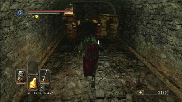Mate as bruxas.  - Pico de terra - Passo a passo - Dark Souls II - Guia do Jogo e Passo a passo