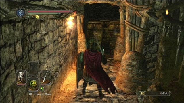 Destrua os vasos à distância.  - Pico de terra - Passo a passo - Dark Souls II - Guia do Jogo e Passo a passo