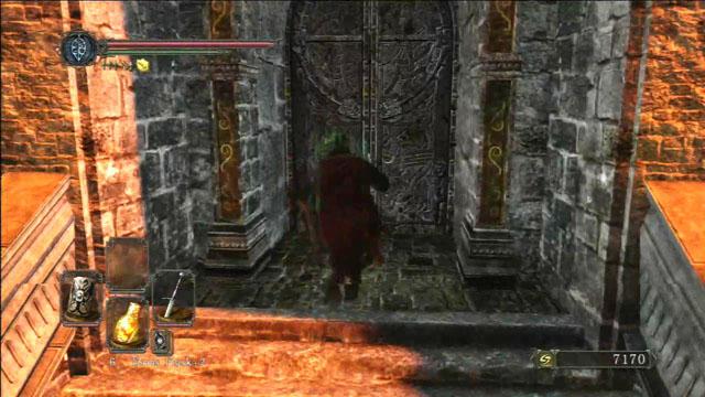 Abra a porta.  - Manter Ferro - viagem pela fortaleza - Detonado - Dark Souls II - Guia do Jogo e Passo a passo