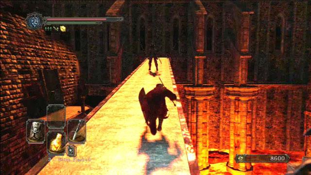 Executar toda a ponte.  - Manter Ferro - viagem pela fortaleza - Detonado - Dark Souls II - Guia do Jogo e Passo a passo
