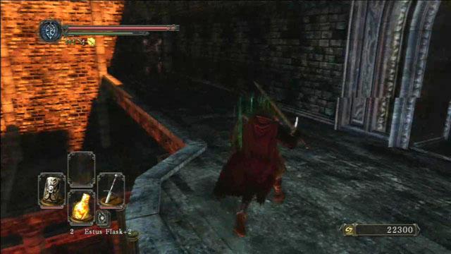 Mate o arqueiro.  - Manter Ferro - viagem pela fortaleza - Detonado - Dark Souls II - Guia do Jogo e Passo a passo