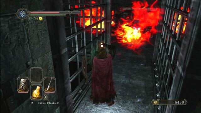 Evite as chamas.  - Manter o ferro - o caminho para o Rei - Detonado - Dark Souls II - Guia do Jogo e Passo a passo