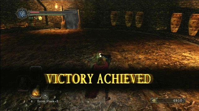 Vitória!  - Demônio Avarento - Como derrotar um chefe - Dark Souls II - Guia do Jogo e Passo a passo