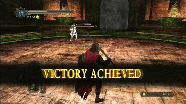 Vitória!  - Mytha, o Baneful Queen - Como derrotar um chefe - Dark Souls II - Guia do Jogo e Passo a passo