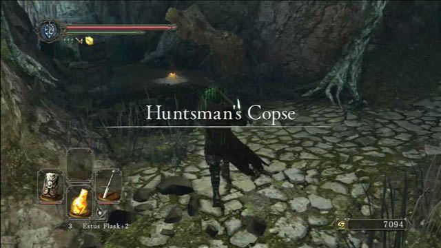 Acenda a fogueira - Huntsmans Bosque - o caminho para o Purgatório Mortos-Vivos - Detonado - Dark Souls II - Guia do Jogo e Passo a passo