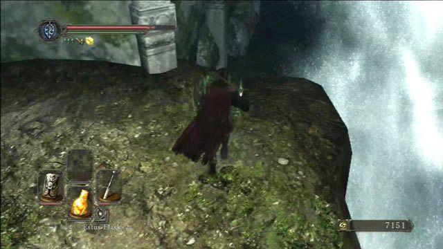 Vá sob a cachoeira - Huntsmans Bosque - o caminho através das montanhas - Detonado - Dark Souls II - Guia do Jogo e Passo a passo