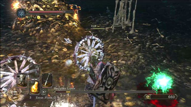 Bonewheel - Esqueleto Lordes - Como derrotar um chefe - Dark Souls II - Guia do Jogo e Passo a passo