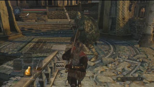 Volte para a ponte e derrotar o cavaleiro.  - Heides Tower Of Flame - Detonado - Dark Souls II - Guia do Jogo e Passo a passo