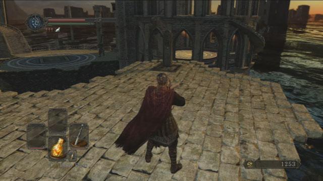 Use a alavanca.  - Heides Tower Of Flame - Detonado - Dark Souls II - Guia do Jogo e Passo a passo
