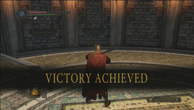 Vitória!  - Dragonrider - Como derrotar um chefe - Dark Souls II - Guia do Jogo e Passo a passo