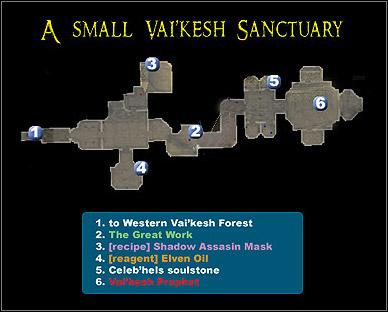A Small Vai'Kesh Sanctuary | Maps - Dungeon Siege II: Broken