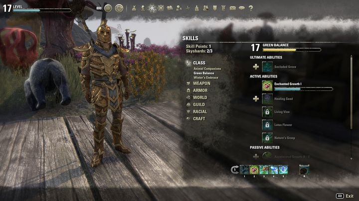 Heres the build we recommend for playing as support - Warden as support | Warden class - Warden Class - The Elder Scrolls Online Game Guide