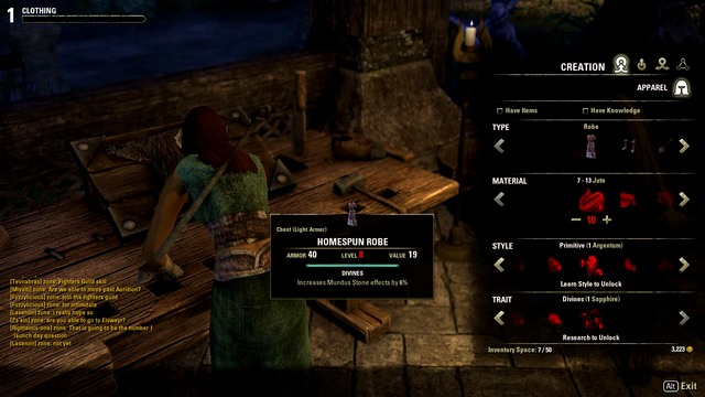 Eso Crafting Style Locations