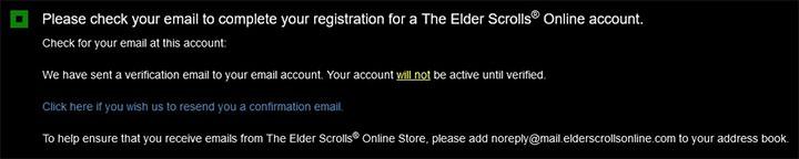 Если вы заполнили все поля правильно, нажмите кнопку «Создать учетную запись» внизу страницы - ESO: Elder Scrolls Online account - как создать? - Начало игры - Онлайн руководство The Elder Scrolls