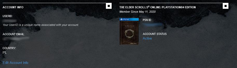 Если ваша копия была приобретена или связана правильно, она будет отображаться на главном экране вашей учетной записи - ESO: Elder Scrolls Online account - как создать? - Начало игры - Онлайн руководство The Elder Scrolls