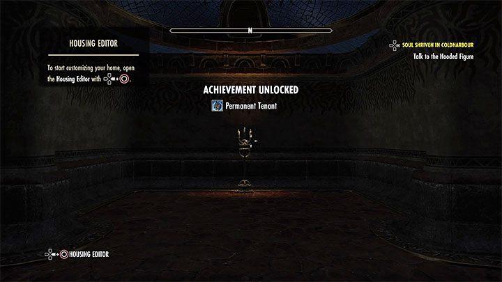 После того, как вы завершили квест, вы можете зайти внутрь и проверить комнату, которая стала вашей собственностью - ESO: собственный дом, собственность - как купить? - Руководство по игре - Онлайн руководство The Elder Scrolls