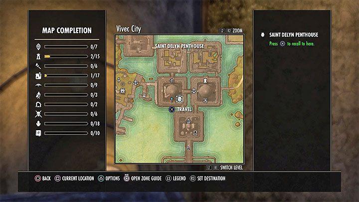 Вы можете легко и быстро вернуться к своей собственности, используя опцию быстрого путешествия - ESO: собственный дом, недвижимость - как купить? - Руководство по игре - Онлайн руководство The Elder Scrolls