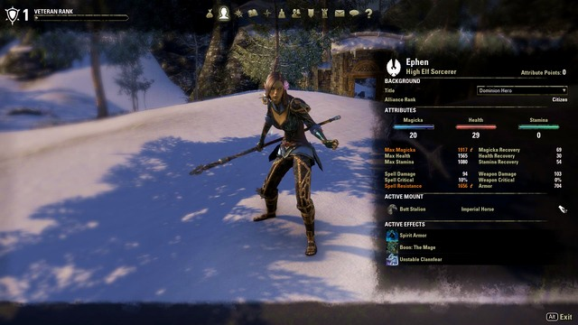 Teso Best Sorc Build