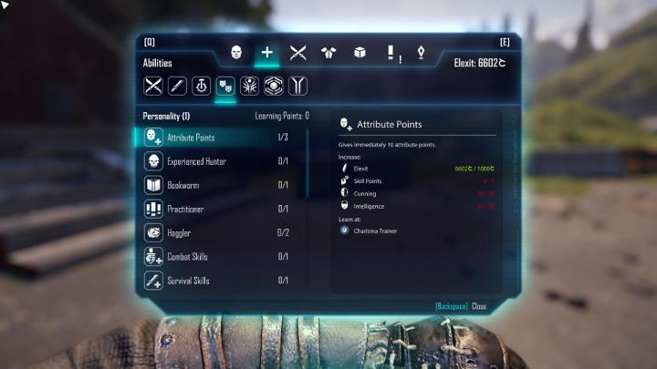 Durante los diálogos puede seleccionar líneas que aumenten o reduzcan la frialdad de su personaje - Desarrollo de caracteres, atributos y habilidades - Desarrollo del carácter - Guía del juego Elex