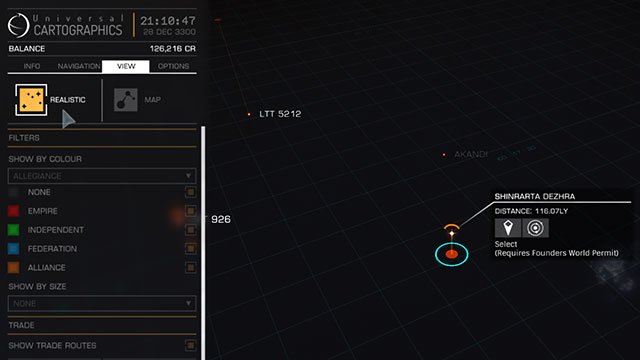 Galaxy map travelling elite dangerous game guide gamepressure view is another helpful bookmark in the maps key galaxy map travelling elite gumiabroncs Choice Image