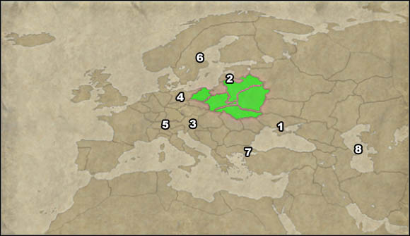 1 - Campaign Guide - Great Campaign - Republic of Poland - Great Campaign - Empire: Total War - Game Guide and Walkthrough