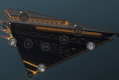 Arks are the powerful vessels inhabited by the representatives of your faction - The Vodyani Race in Endless Space 2 - Races - Endless Space 2 Game Guide