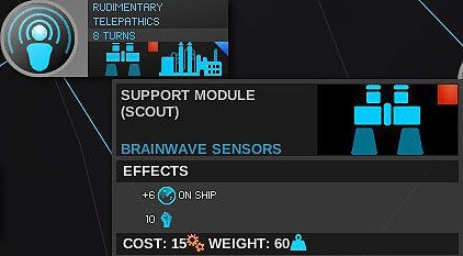 Thanks to this technology you get a module increasing the enemy detection - Influence - Fleets and Systems Influence on the Galaxy - Endless Space - Game Guide and Walkthrough
