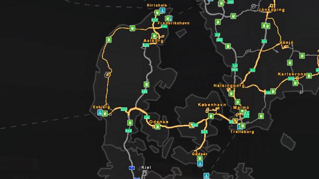 Denmark | Roads characteristic - Euro Truck Simulator 2: Scandinavian Expansion Game Guide ...