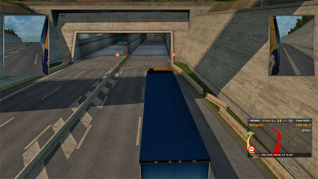 The number of bridges is not the only impressive thing - Denmark - Roads characteristic - Euro Truck Simulator 2: Scandinavian Expansion - Game Guide and Walkthrough