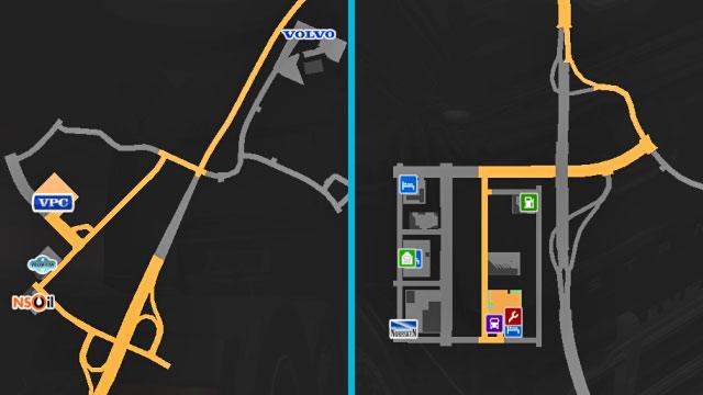 Sweden (part 1) | Cities - Euro Truck Simulator 2