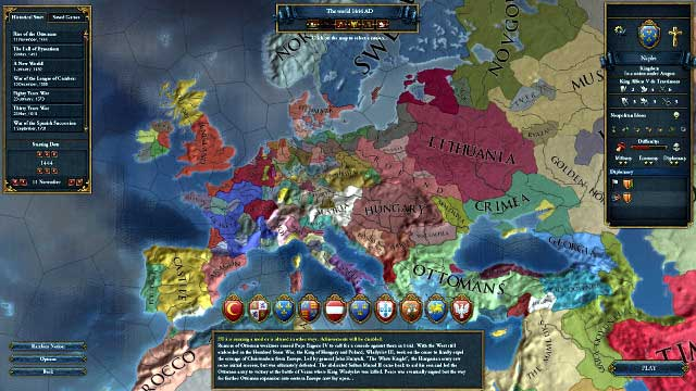 game guide the beginning of the game europa universalis iv game