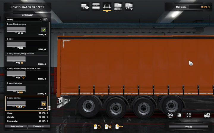 Trailers in ETS2 Beyond the Baltic Sea - Euro Truck