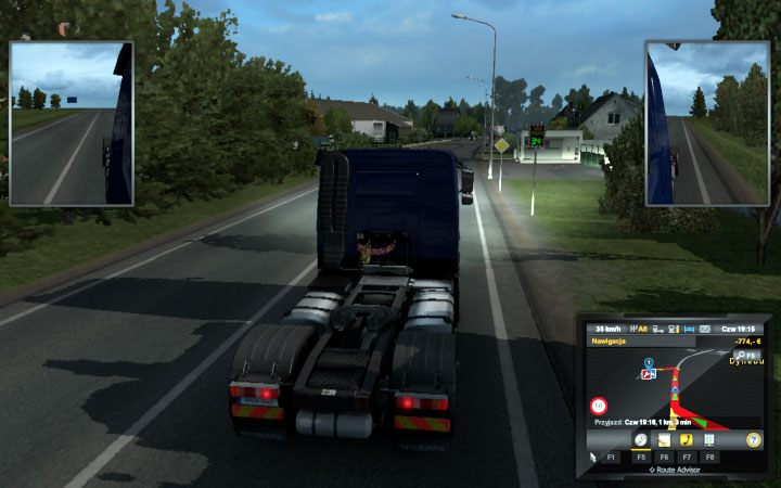Latvia in Euro Truck Simulator 2 Beyond the Baltic Sea