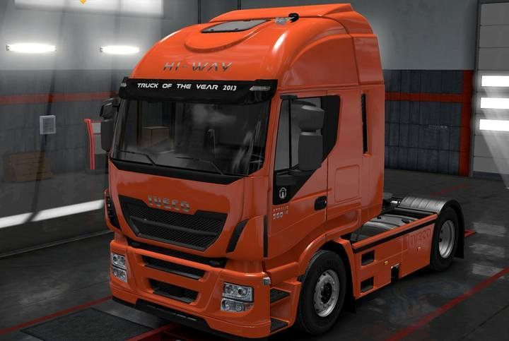 IVECO HI-WAY - Truck models in Euro Truck 2 - Truck dealers - Euro Truck Simulator 2 Game Guide