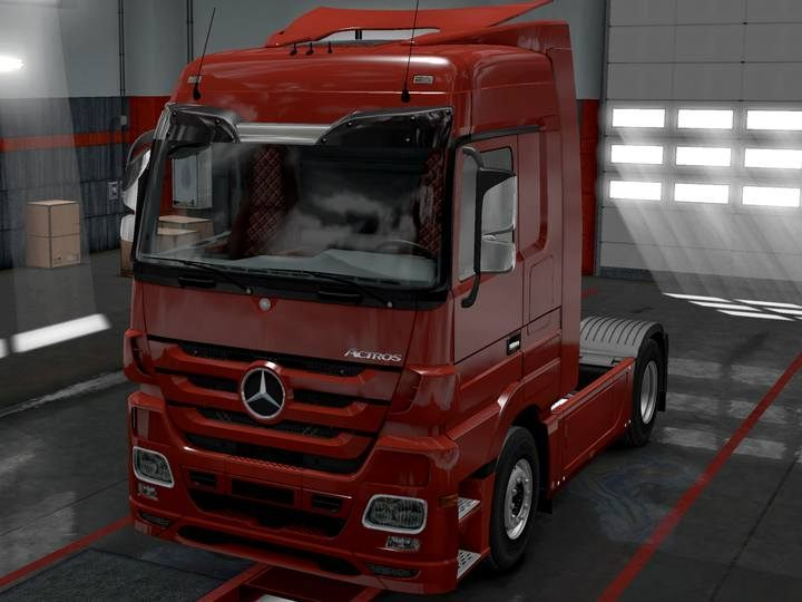 MERCEDES-BENZ ACTROS - Truck models in Euro Truck 2 - Truck dealers - Euro Truck Simulator 2 Game Guide