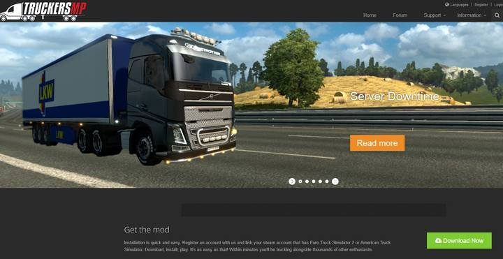 TruckersMPs download page - TruckersMP application for Euro Truck Simulator 2 - Multiplayer - Euro Truck Simulator 2 Game Guide