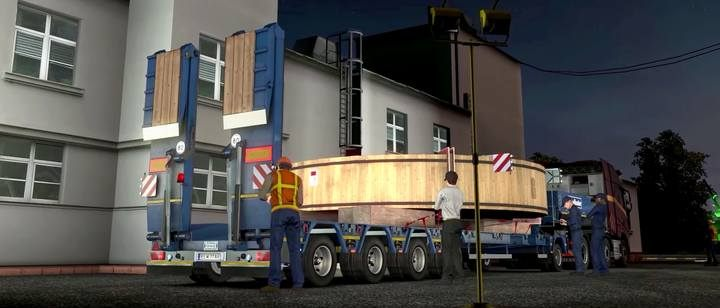 Oversized cargo is available only in singleplayer - Official add-ons - DLC in Euro Truck 2 - First steps - Euro Truck Simulator 2 Game Guide