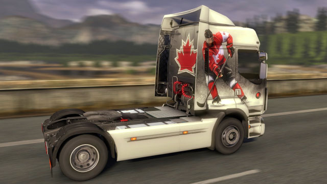 This add-on gives you four additional paint jobs in the United States colors - Official add-ons - DLC in Euro Truck 2 - First steps - Euro Truck Simulator 2 Game Guide