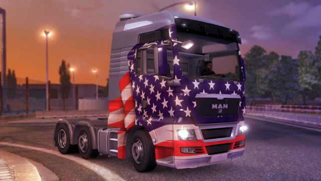 This add-on gives you four additional paint jobs in the Brazilian colors - Official add-ons - DLC in Euro Truck 2 - First steps - Euro Truck Simulator 2 Game Guide