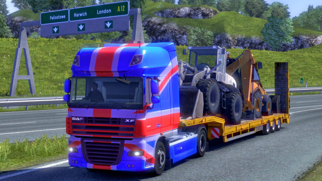 This add-on gives you six additional paint jobs in the Halloween colors - Official add-ons - DLC in Euro Truck 2 - First steps - Euro Truck Simulator 2 Game Guide