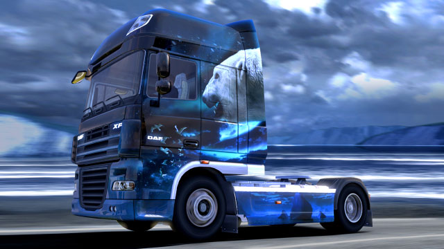 This add-on gives you six additional paint jobs in the force of nature colors - Official add-ons - DLC in Euro Truck 2 - First steps - Euro Truck Simulator 2 Game Guide