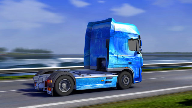 This add-on gives you nine additional paint jobs with the option to customize them - Official add-ons - DLC in Euro Truck 2 - First steps - Euro Truck Simulator 2 Game Guide