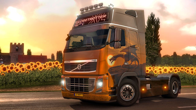 This add-on gives you four additional paint jobs in the German colors - Official add-ons - DLC in Euro Truck 2 - First steps - Euro Truck Simulator 2 Game Guide