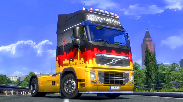 This add-on gives you four additional paint jobs in the France colors - Official add-ons - DLC in Euro Truck 2 - First steps - Euro Truck Simulator 2 Game Guide