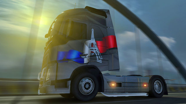 This add-on gives you eleven interesting additional paint jobs - Official add-ons - DLC in Euro Truck 2 - First steps - Euro Truck Simulator 2 Game Guide