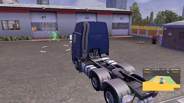 You will find an empty garage which you can buy in each available city - Owner of a company | Career - Career - Euro Truck Simulator 2 Game Guide