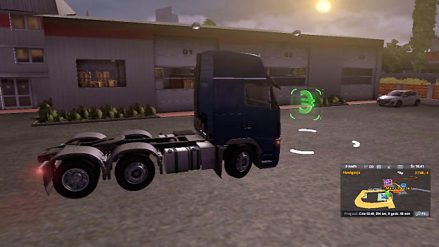 Each European city you explore offers an empty small garage - Upgrading and buying garage | Garage - Garage - Euro Truck Simulator 2 Game Guide