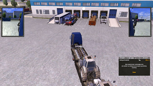 One of the most important things is handling the trailer - Park the trailer - Driving your truck - Euro Truck Simulator 2 - Game Guide and Walkthrough