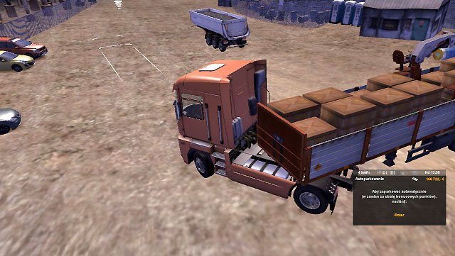A quarry is a place where it is easy to park - Park the trailer - Driving your truck - Euro Truck Simulator 2 - Game Guide and Walkthrough